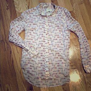 Shirt - Long sleeve button up